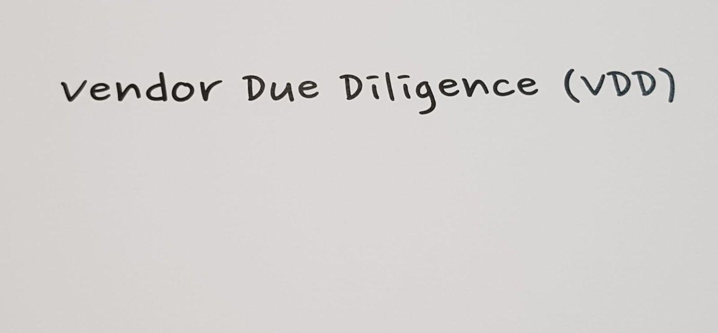 Vendor Due Diligence